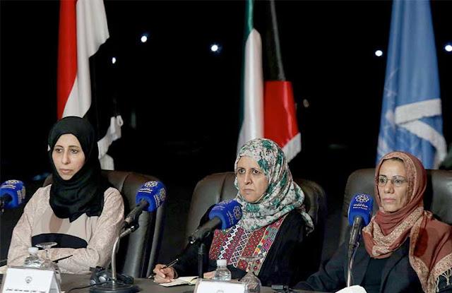 Image result for WOMEN + YEMEN + PEACE TALKS