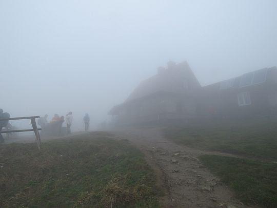 Chatka Puchatka na Połoninie Wetlińskiej.