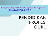 Senyawa Organik dan Senyawa Anorganik - Modul IPA 6 KB 3