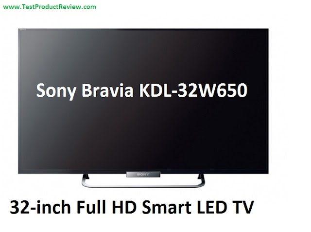 Sony Bravia KDL-32W650 32-inch Full HD Smart LED TV specs and review