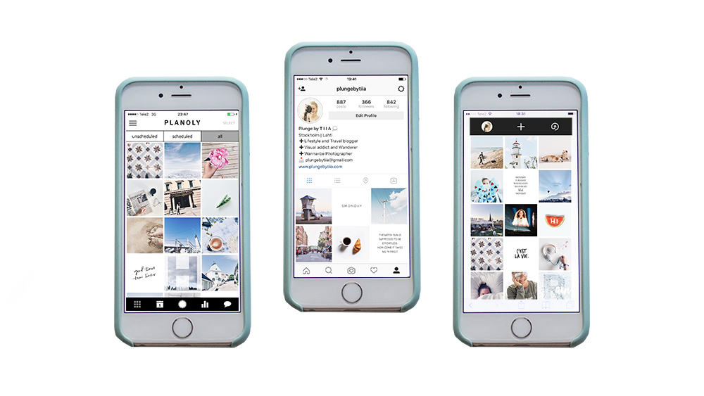 2 apps for planning your Instagram feed