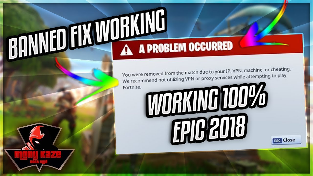 How to get unban from fortnite (FIX) 2018 - HowTO