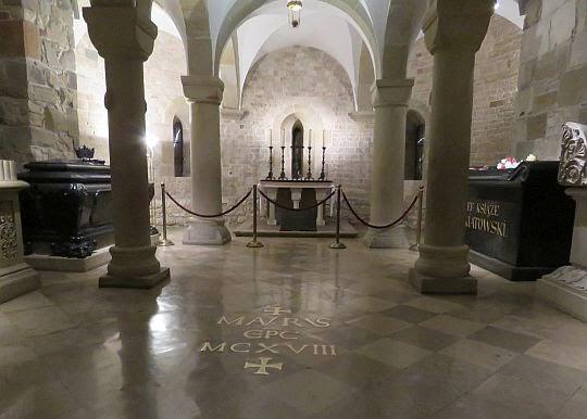 Krypta św. Leonarda.