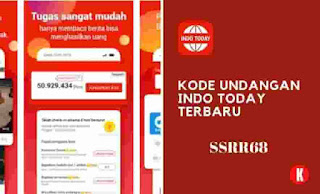 Kode Undangan Indo Today Terbaru 2021