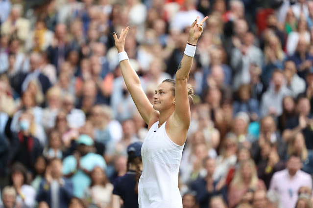 Aryna Sabalenka já atinge melhor resultado em Wimbledon