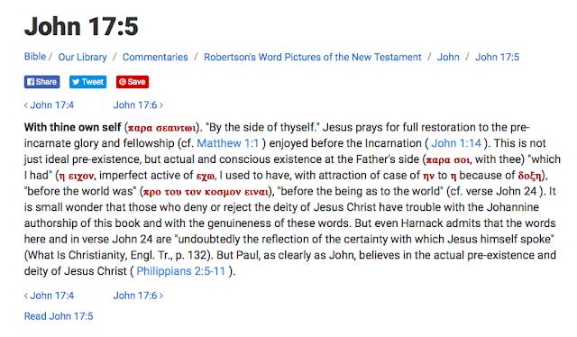 John 17:5.