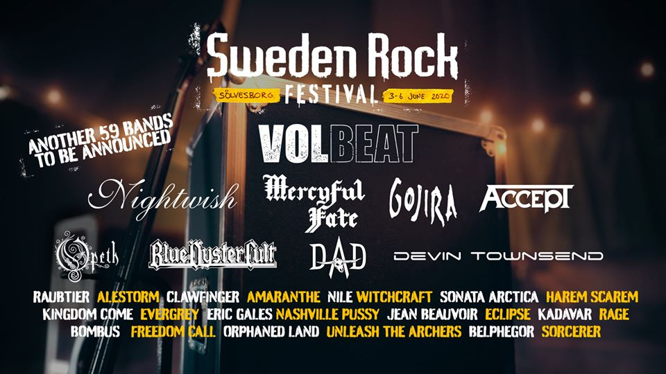 sweden rock festival line up
