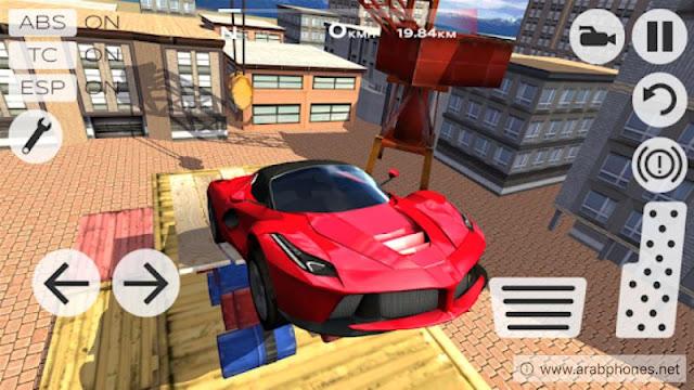 تحميل لعبة 2 Extreme Car Driving Simulator مهكرة اخر اصدار