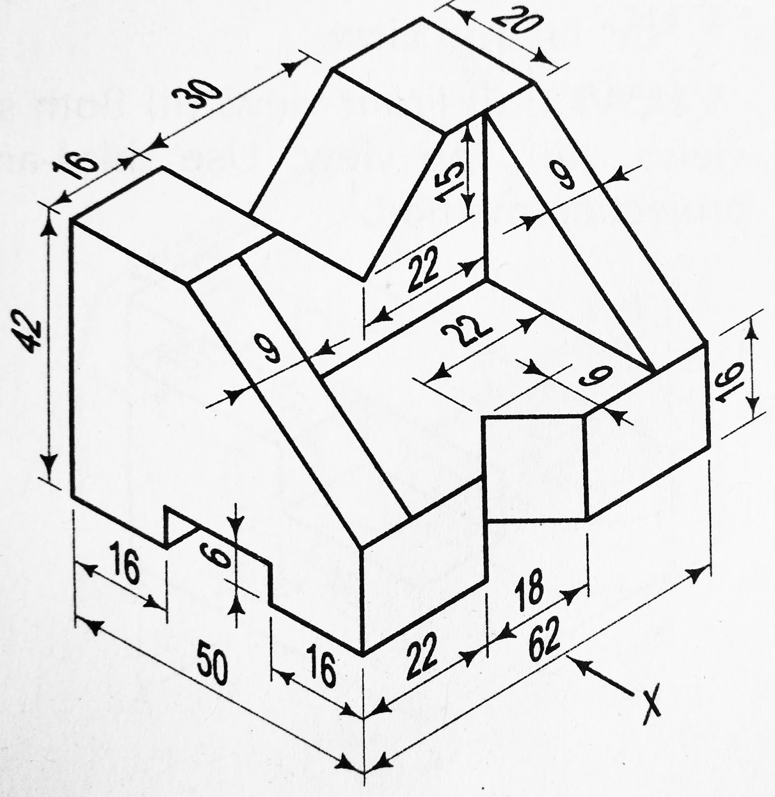 Orthographic Projection 7 In First Angle And Third Angle