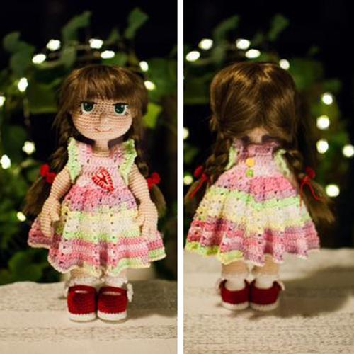 CAL Doll Greta - Free Pattern