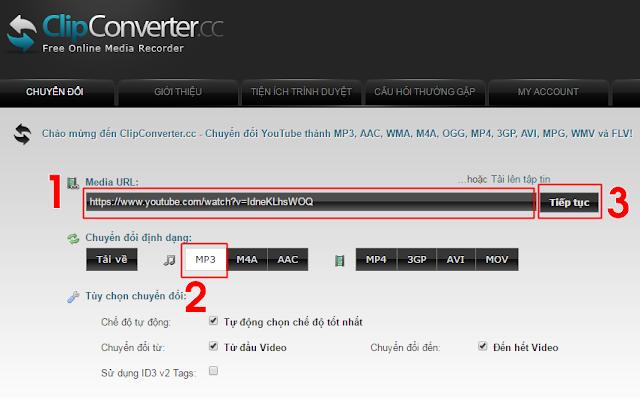Cách tải nhạc MP3 (audio) từ video trên Youtube 1