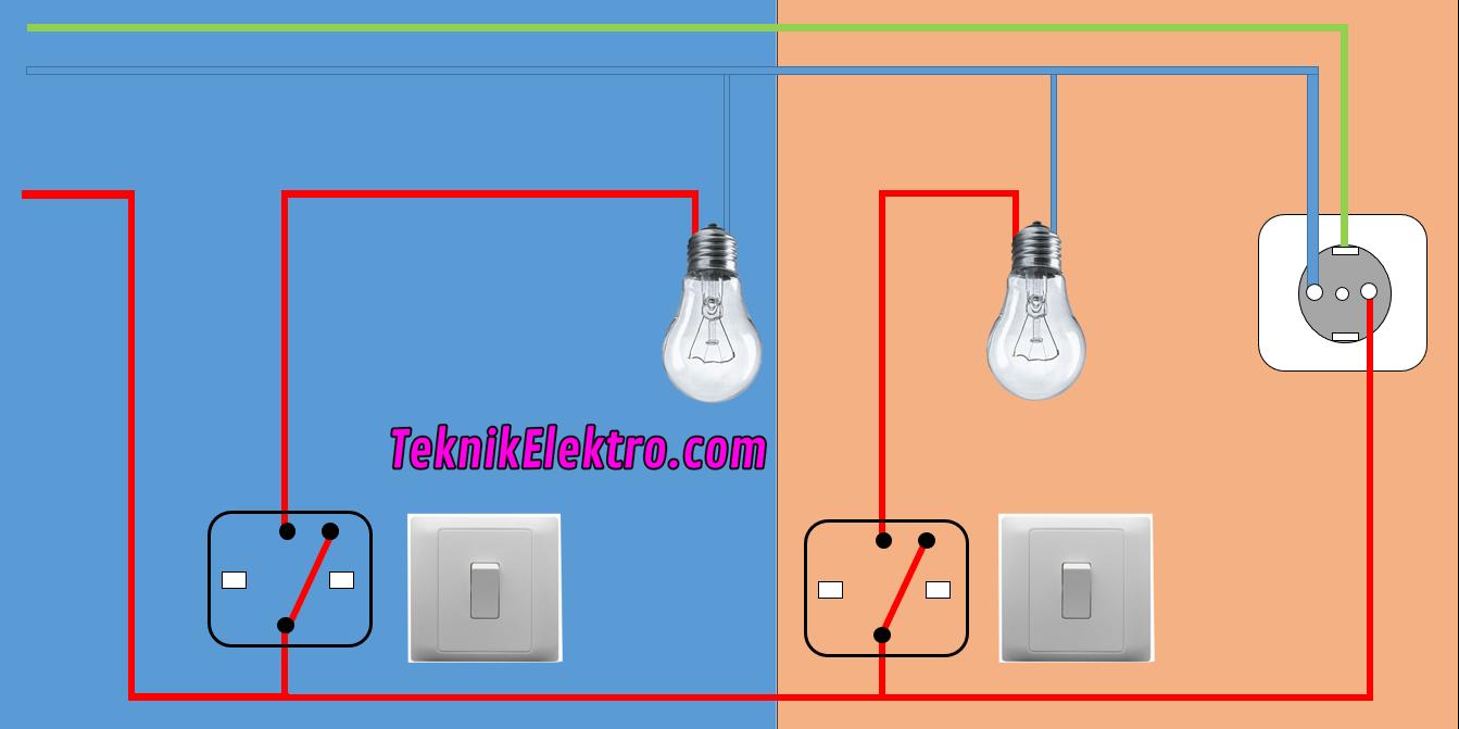 Cara Kerja Saklar Tunggal - Teknik Elektro