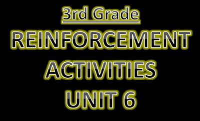 Reinforcement Activities Unit 6