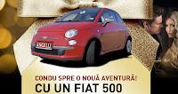 Castiga un Fiat 500 rosu - concurs - masina - angelli - premii - 2020 - castiga.net