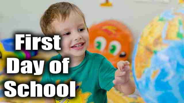 My first day of school essay   [First Day at School]