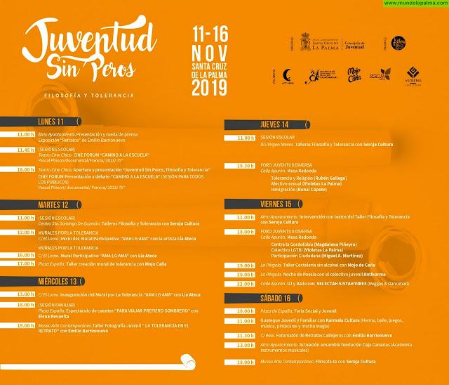 Santa Cruz de La Palma celebra el Día de la Tolerancia con el festival 'Juventud sin Peros'