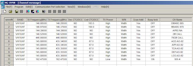 HG-UV98 software