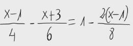 43. Ecuación de primer grado - Fracciones