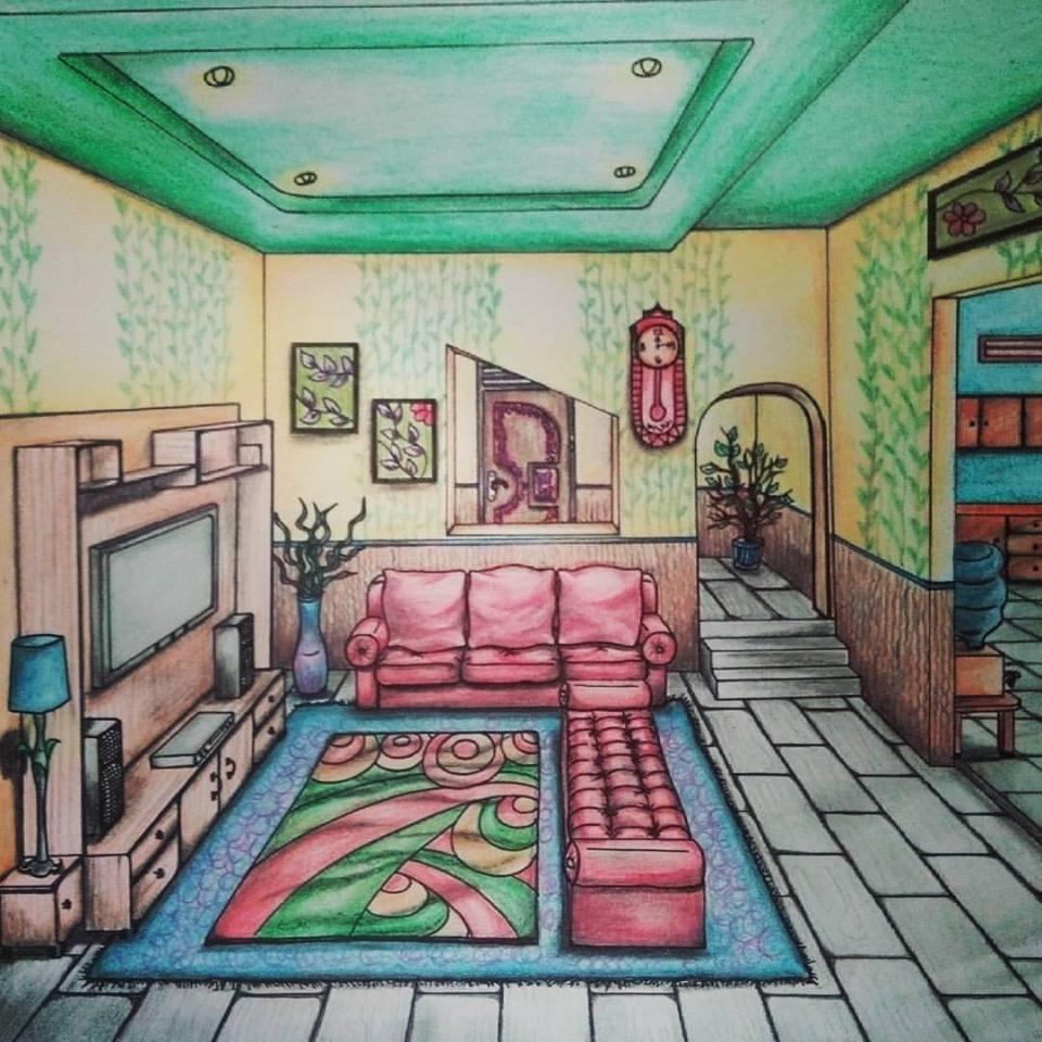 Gambar Jasa Gambar Sketsa Lukis Desain Batik Kaligrafi Contoh