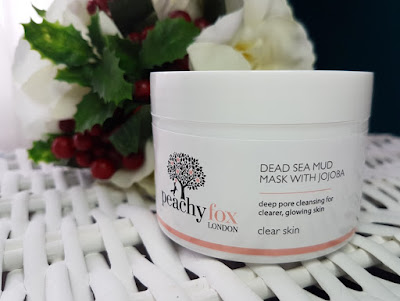 Peachy Fox Dead Sea Mud Mask with Jojoba