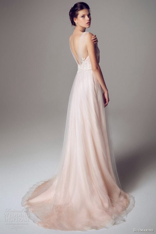 The Pale Subtlety Of Pastel Pink Makes It Look Very Much Like A Wedding Gown But S Great Way Escaping Conventionality