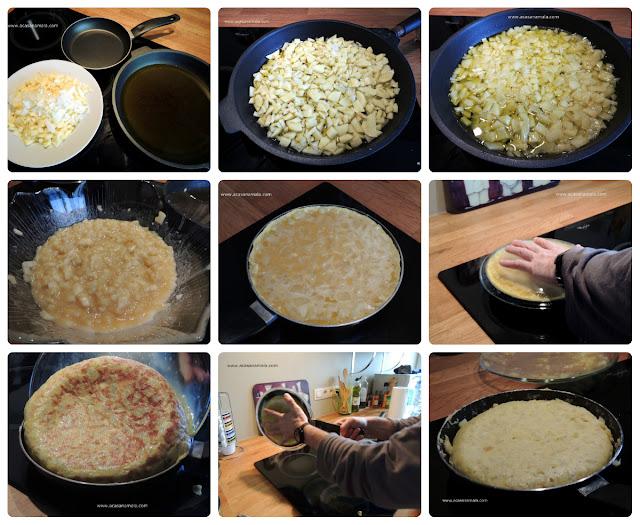 Tortilla Española - Tortilha Espanhola - Tortilha de Batatas