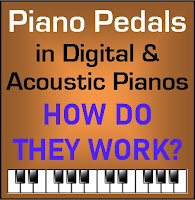 Piano pedals and how they work - Report