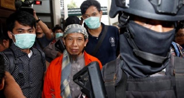 Jalani Sidang Vonis, Aman Abdurrahman Tiba dalam Kawalan Polisi