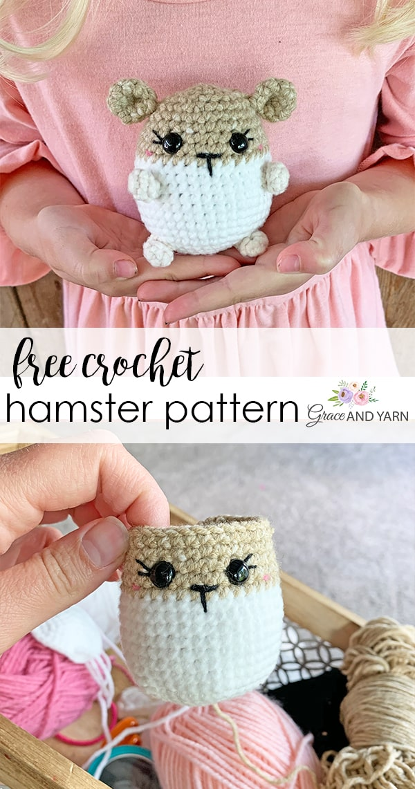 Hamster Amigurumi crochet pattern | The Sun and the Turtle | 1141x600