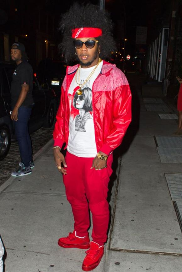 3a1abc16319 Looks like Trinidad James is the 2nd celeb besides Dj Khaled to be hooked  up with the Air Jordan 3