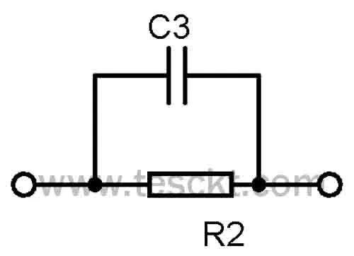 Capacitive dropper circuit