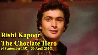 Rishi Kapoor - (4 September 1952 - 30 April 2020)
