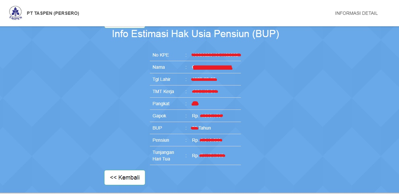 Cek Dana Pensiun Pns Infoshare13