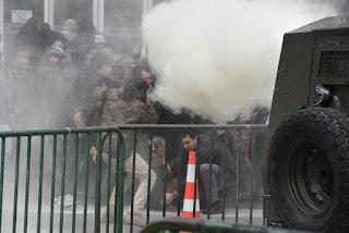 gas lacrimogeno