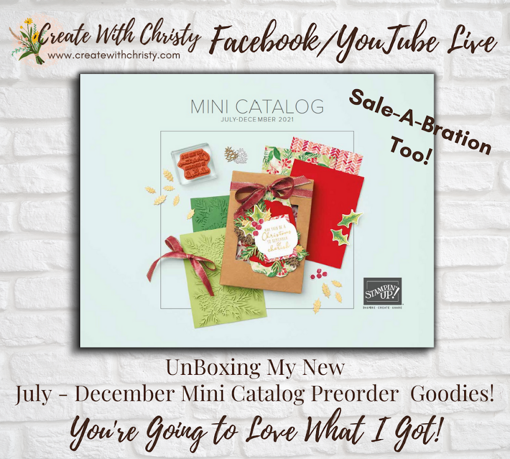 See What I Got in my Holiday Catalog Preorder Yesterday!