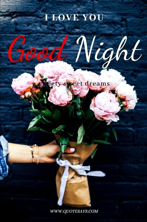 Good Night Flower for love