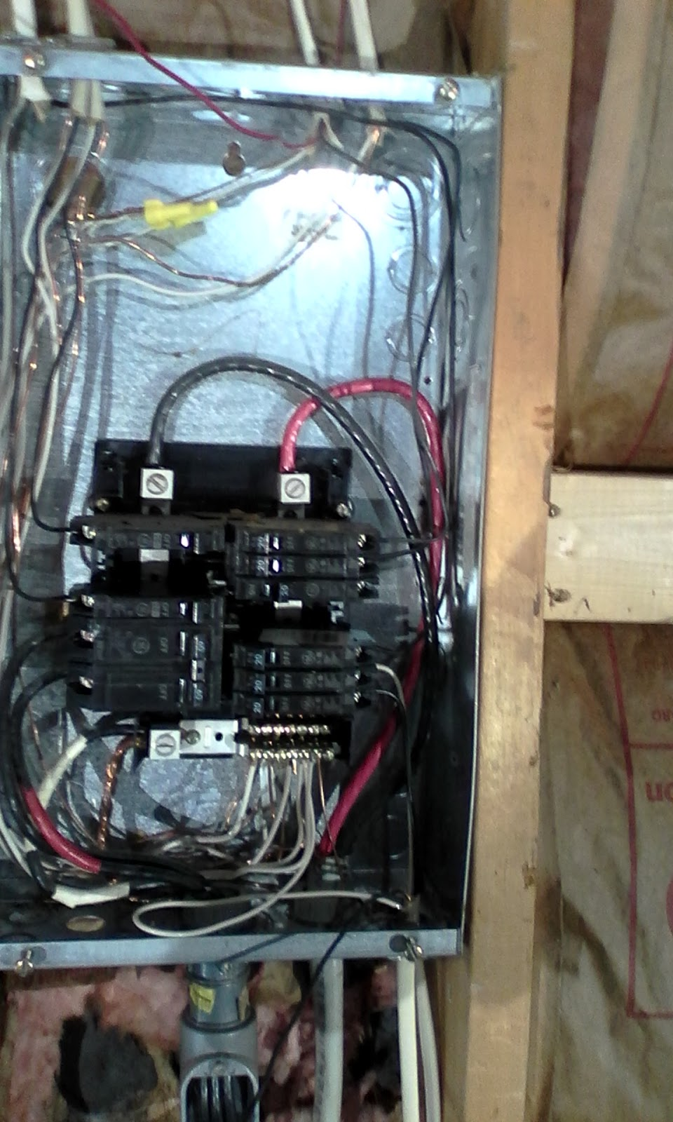 Pure Sinewave Inverter Battery Bank Plc Microgrid Electrical Energy Shop Square D Homeline 40amp 2pole Circuit Breaker At Lowescom Hold On 1 More Subpanel Was Discovered In The Attached Garage Feeding Power To That Area For Lighting Inside And Out Outlets Switching As Well