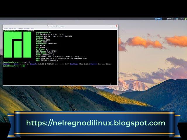 Guida a aManjaro Linux: installazione, passaggi preliminari e preparazione di un sistema EFI.