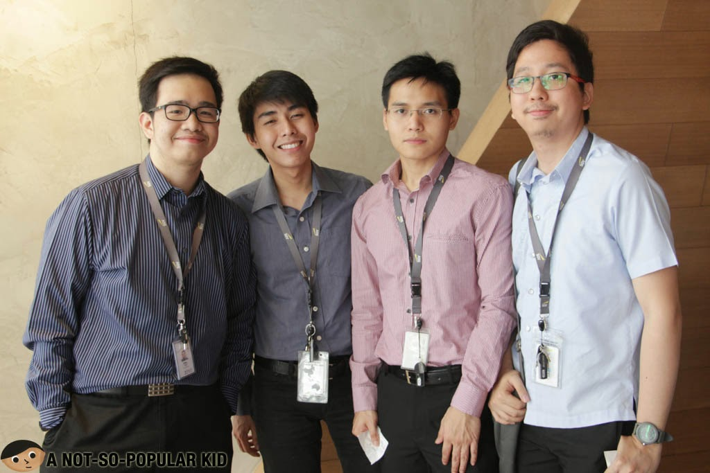Emil Ong, Gerric Gener, Myles Sia and Renz Cheng - Mendokoro