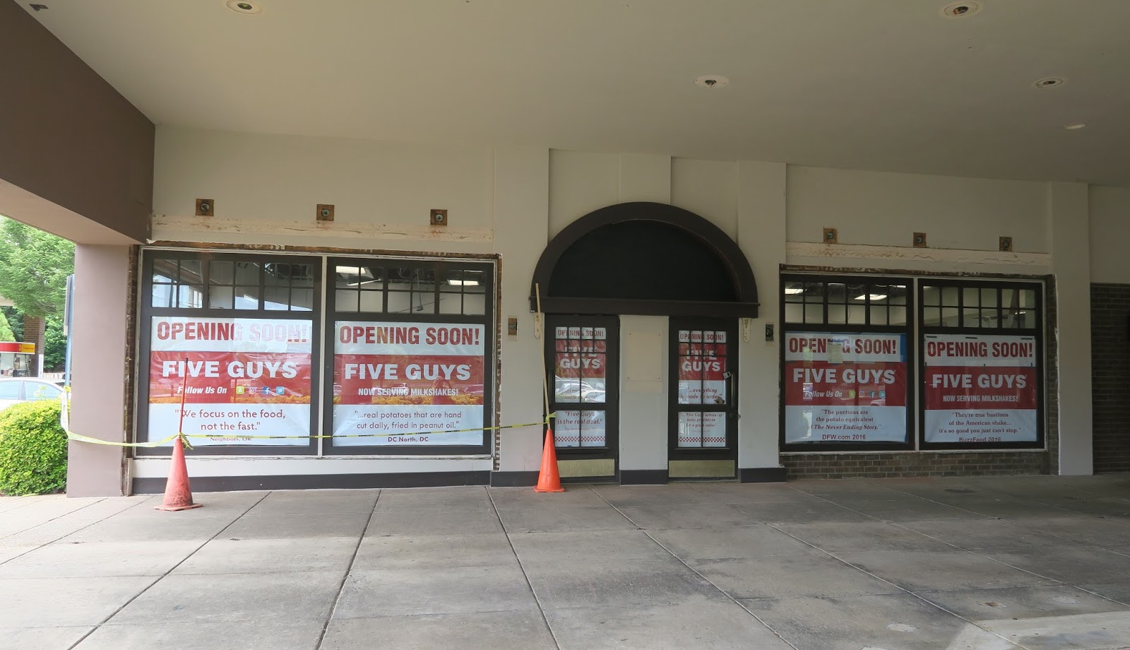 The Annandale Blog Five Guys To Open In Old Grevey S Spot