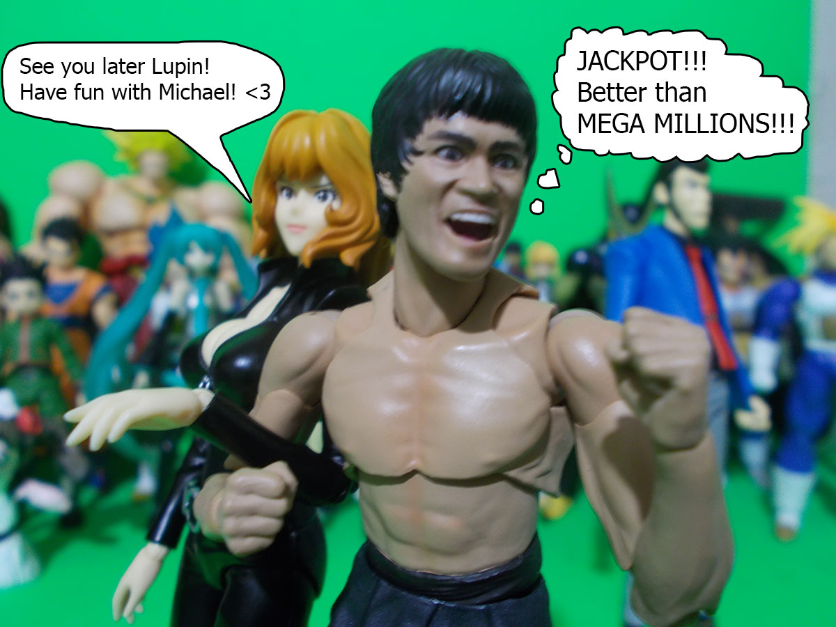 figuarts - Fujiko and the Diamond Bear 42-mega