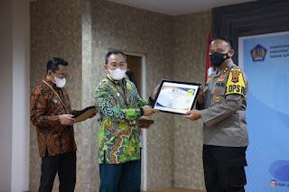 Luar Biasa, Polres Sinjai Raih Penghargaan Peringkat III Penilaian IKPA TA. 2020 Lingkup Provinsi Sulsel