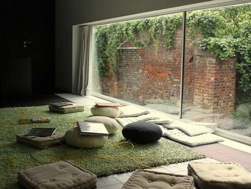 Meditation space on pinterest yoga studios meditation - Yoga meditation room ideas ...