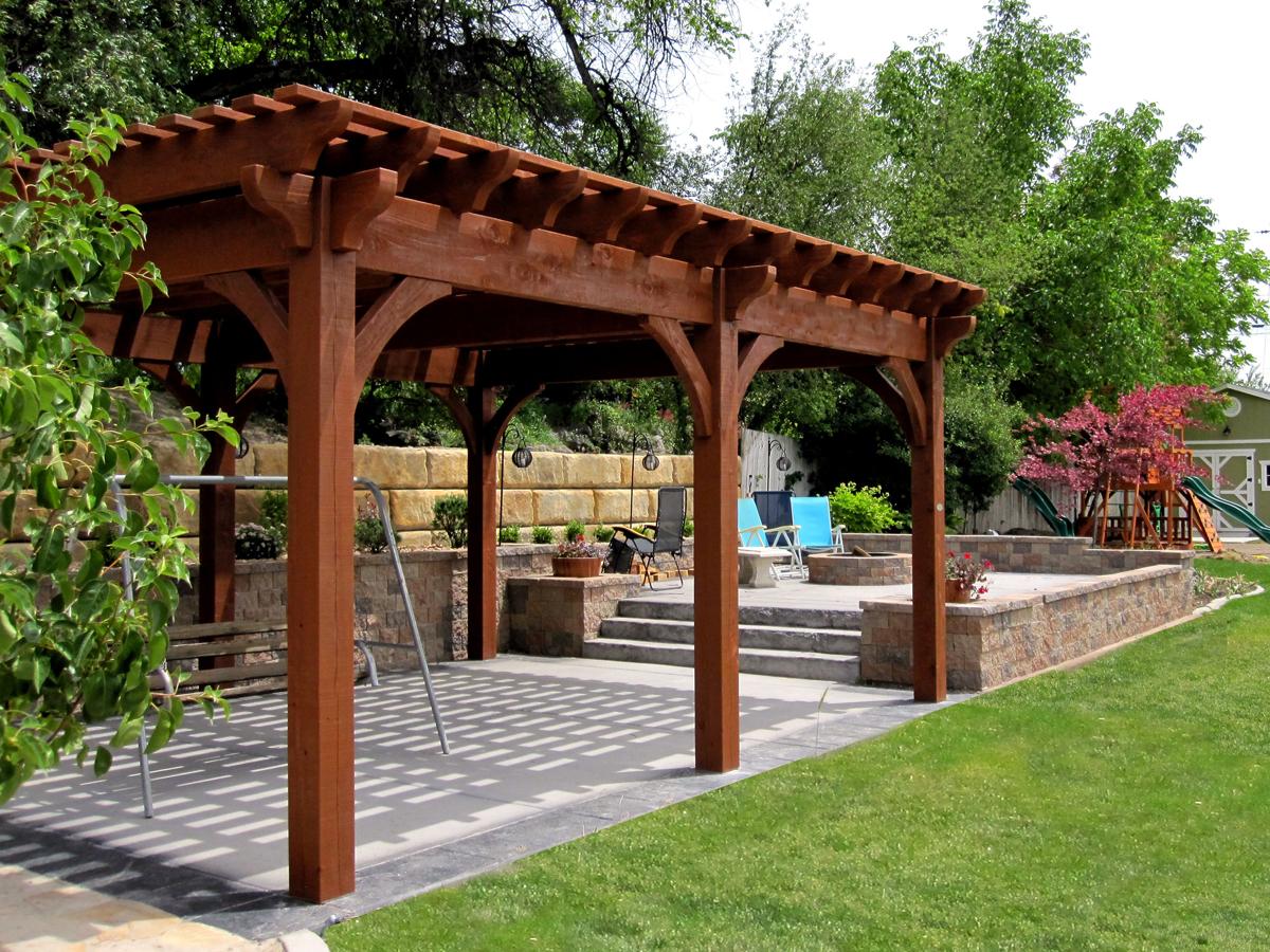 Las pérgolas de madera - AV CARPINTEROS | 653 876 709 | Carpinteros ...