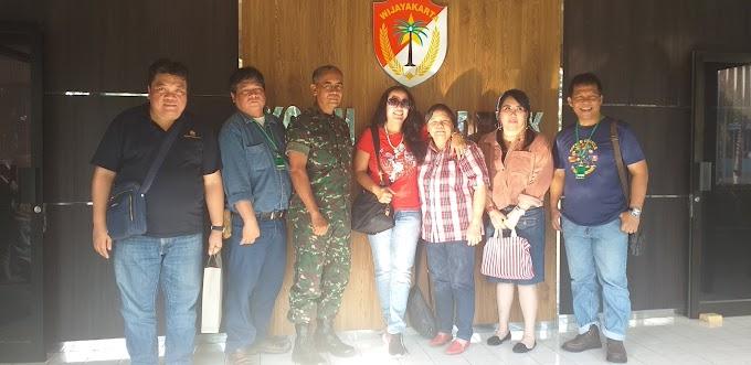 Bakti Sosial Komunitas Kemuning Bidik Keluarga TNI