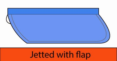 Jetted with flap