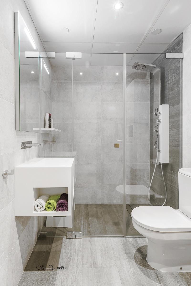 Uno de los baños más guardado en Houzz - Ale Favetto