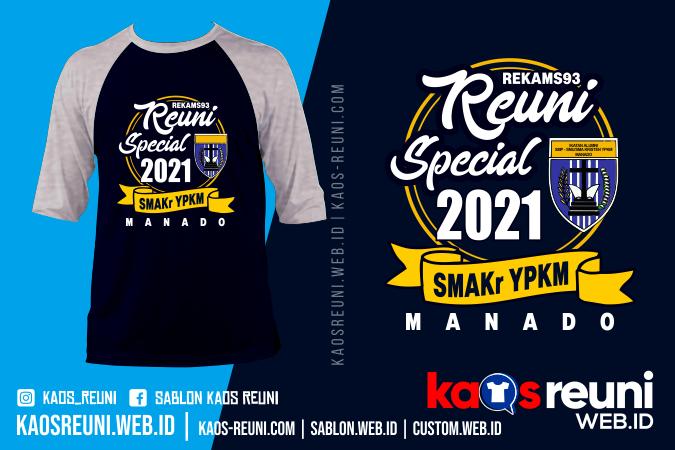 Sablon Kaos Reuni Spesial 2021 SMAKr YPKM MANADO