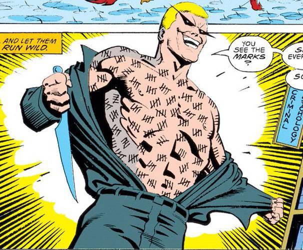 Victor Zsasz nos quadrinhos da DC Comics