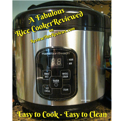 Hamilton Beach Rice Cooker Reviewed
